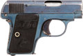 Handguns:Semiautomatic Pistol, Colt Vest Pocket Model 1908 Semi-Automatic Pistol....