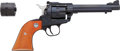 Handguns:Single Action Revolver, Boxed Sturm Ruger New Model Single-Six Single Action Revolver withExtra Cylinder....