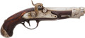 Handguns:Muzzle loading, French Unmarked Percussion Pistol....