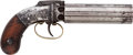 Long Guns:Muzzle loading, Allen & Thurber Pepperbox Percussion Revolver....