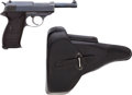 Handguns:Semiautomatic Pistol, Walther P-38 Semi-Automatic Pistol with Dated Holster....