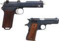 Handguns:Semiautomatic Pistol, Lot of 2 Semi-Automatic Pistols.... (Total: 2 Items)