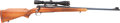 Long Guns:Bolt Action, .300 Win Mag. Pre-64 Winchester Model 70 Standard Grade Bolt ActionRifle with Telescopic Sight....
