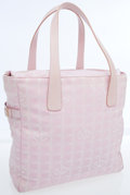 Luxury Accessories:Bags, Chanel Light Pink Monogram Canvas Sport Collection Large Tote Bag....