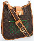 Luxury Accessories:Bags, Louis Vuitton Limited Edition Classic Monogram Canvas PerforatedMusette Bag . ...