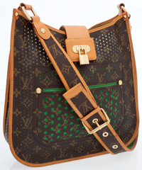 Louis Vuitton Limited Edition Classic Monogram Canvas Perforated Musette Bag