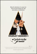 """Movie Posters:Science Fiction, A Clockwork Orange (Warner Brothers, 1971). One Sheet (27.5"""" X40.5"""") X-Rated Style. Science Fiction.. ..."""