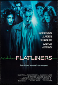 """Flatliners & Other Lot (Columbia, 1990). One Sheets (2) (27"""" X 41"""") SS & DS, Regular & Advance. Th..."""