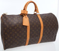 Luxury Accessories:Travel/Trunks, Louis Vuitton Classic Monogram Keepall 55 Weekender Overnight Bag....
