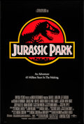 "Movie Posters:Science Fiction, Jurassic Park (Universal, 1993). One Sheet (26.75"" X 39.5"") SS.Science Fiction.. ..."