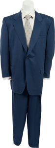"Movie/TV Memorabilia:Costumes, A James Gandolfini Suit from ""The Sopranos.""..."