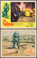 """Movie Posters:Science Fiction, Earth vs. the Flying Saucers & Other Lot (Columbia, 1956). Lobby Cards (2) (11"""" X 14""""). Science Fiction.. ... (Total: 2 Items)"""