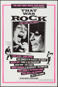 "Movie Posters:Rock and Roll, That Was Rock (American International, R-1984). One Sheet (27"" X41""). Rock and Roll.. ..."