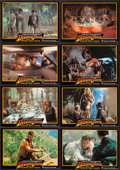 "Movie Posters:Adventure, Indiana Jones and the Temple of Doom (Paramount, 1984). GermanLobby Cards (23) (8.25"" X 11.75""). Adventure.. ... (Total: 23Items)"