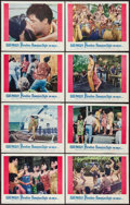 "Movie Posters:Elvis Presley, Paradise -- Hawaiian Style (Paramount, 1966). Lobby Card Set of 8(11"" X 14""). Elvis Presley.. ... (Total: 8 Items)"
