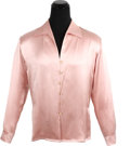 """Movie/TV Memorabilia:Costumes, A Patrick Swayze Dress Shirt from """"To Wong Foo Thanks forEverything, Julie Newmar.""""..."""