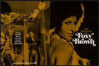 """Foxy Brown (American International, 1974). Promotional Item (8.5"""" X 11"""" closed, 17"""" X 22"""" opened) Ad..."""
