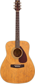 Music Memorabilia:Autographs and Signed Items, Country Icons Signed Guitar....