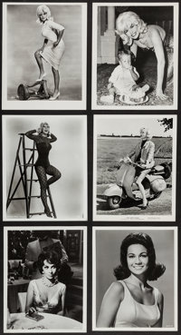 """Jayne Mansfield & Others Lot (Allied Artists, 1961). Pinup Photos (19) (8"""" X 10""""). Sexploitation..."""