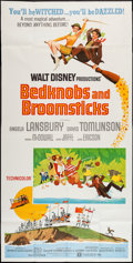 "Movie Posters:Animation, Bedknobs and Broomsticks (Buena Vista, 1971). Three Sheet (39"" X 77""). Animation.. ..."