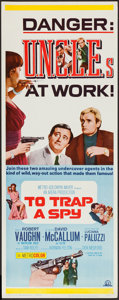"Movie Posters:Action, To Trap a Spy (MGM, 1966). Insert (14"" X 36""). Action.. ..."