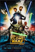 "Movie Posters:Animation, Star Wars: Clone Wars & Other Lot (Warner Brothers, 2008). OneSheets (2) (27"" X 40"") DS Advance. Animation.. ... (Total: 2 Items)"