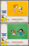 """Movie Posters:Animation, Snoopy, Come Home! & Others Lot (National General, 1972). LobbyCards (2) (11"""" X 14"""") & One Sheets (19) (27"""" X 41""""). Animati...(Total: 21 Item)"""