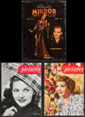 """Movie Posters:Miscellaneous, Pictures & Other Lot (Universal-International, 1947). Magazines (3) (Multiple Pages, 8.5"""" X 11.25"""" & 9.25"""" X 12.25""""). Miscel... (Total: 3 Items)"""