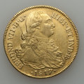 Colombia, Colombia: Ferdinand VII gold 8 Escudos 1817-JF,...