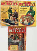Pulps:Detective, Double Detective - Green Lama Group (Frank A. Munsey Company,1940).... (Total: 3 Comic Books)