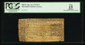 Colonial Notes:Maryland, Maryland April 10, 1774 $1/3 PCGS Apparent Fine 15.. ...