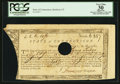 Colonial Notes:Connecticut, Connecticut Treasury Office June 1, 1782 Hole Cancel PCGS ApparentVery Fine 30.. ...