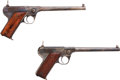 Handguns:Semiautomatic Pistol, Lot of Two Fiala Arms Model 1920 Repeating Pistols.... (Total: 2Items)
