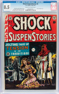 Golden Age (1938-1955):Horror, Shock SuspenStories #6 (EC, 1952) CGC VF+ 8.5 Cream to off-whitepages....