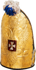 Militaria:Helmets, Russian Imperial Grenadier's Mitre....