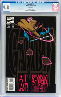 Gambit #1 (Marvel, 1993) CGC NM/MT 9.8 White pages