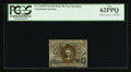 Fractional Currency:Second Issue, Fr. 1244SP 10¢ Second Issue Narrow Margin Face PCGS New 62PPQ.. ...