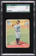 Baseball Cards:Singles (1930-1939), 1933 Goudey Babe Ruth #144 SGC 10 Poor 1....