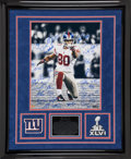 Football Collectibles:Photos, 2011 New York Giants Team Signed Oversized Photograph....