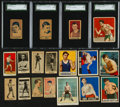 Boxing Cards:General, 1910's-1950's Boxing Card Collection (21). ...