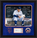 Baseball Collectibles:Photos, 1962 New York Mets Team Signed Oversized Photograph....