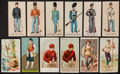 "Non-Sport Cards:Lots, 1880's ""N"" Tobacco and ""E"" Caramel Card Collection (38). ..."