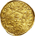 Italy:Papal States, Italy: Papal States. Paolo (Paul) III gold Scudo d'oro(1534-49),...