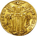 Italy:Papal States, Italy: Papal States. Benedetto (Benedict) XIV gold Zecchino1747,...