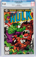 Modern Age (1980-Present):Superhero, The Incredible Hulk #247 (Marvel, 1980) CGC NM/MT 9.8 White pages....