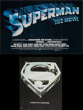 Movie Posters:Action, Superman the Movie & Others Lot (Warner Brothers, 1978).Promotional Items (37) (Multiple Pages, Various Sizes). Action..... (Total: 37 Items)