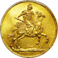 German States:Saxony, German States: Saxony. Friedrich August I gold Ducat 1697,...