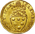 Italy:Papal States, Italy: Papal States. Clemente VII gold 2 Fiorini di Camera ND(1523-34), ...