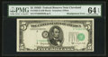 Fr. 1965-D $5 1950D Federal Reserve Note. PMG Choice Uncirculated 64 EPQ