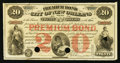 Obsoletes By State:Louisiana, New Orleans, LA- Premium Bond City of New Orleans $20 Sep. 1, 1875. ...